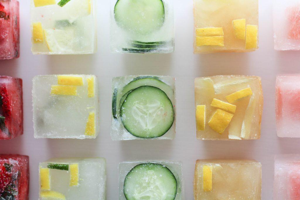 Домашний лед для лица