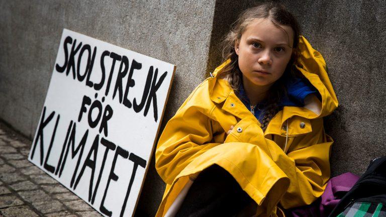 Грета Тунберг – шведская активистка